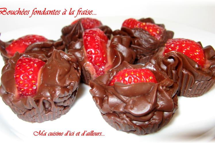 Bouchées fondantes à la fraise