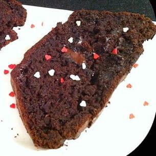 cake chocolat et courgettes