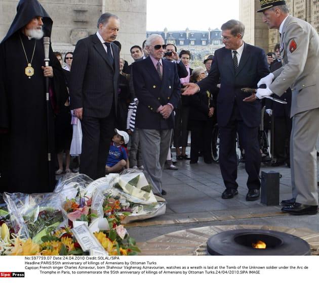 Pour les 95ans du génocide arménien, en 2010à Paris