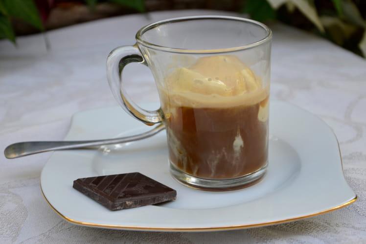 Café à la glace à vanille - Affogato al Caffè