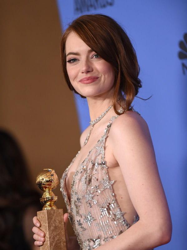 Emma Stone Le Chignon Flou