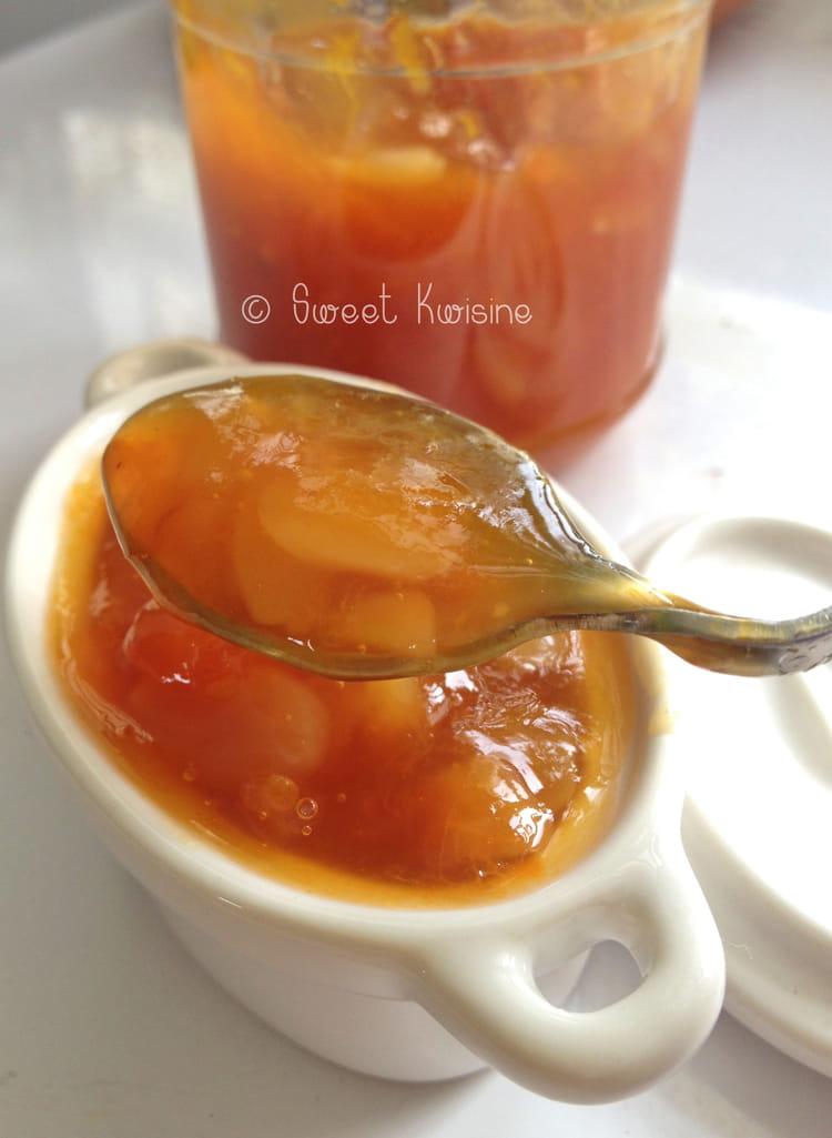 confiture abricot sans citron