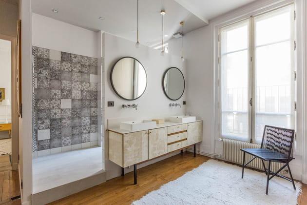 Une salle de douche qui fait rêver