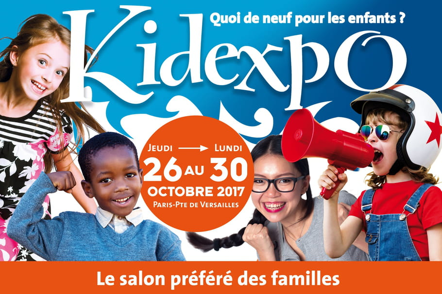Tous les kids à Kidexpo !