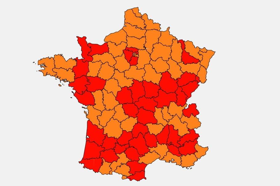 Pollen: risque d'allergie élevé sur toute la France