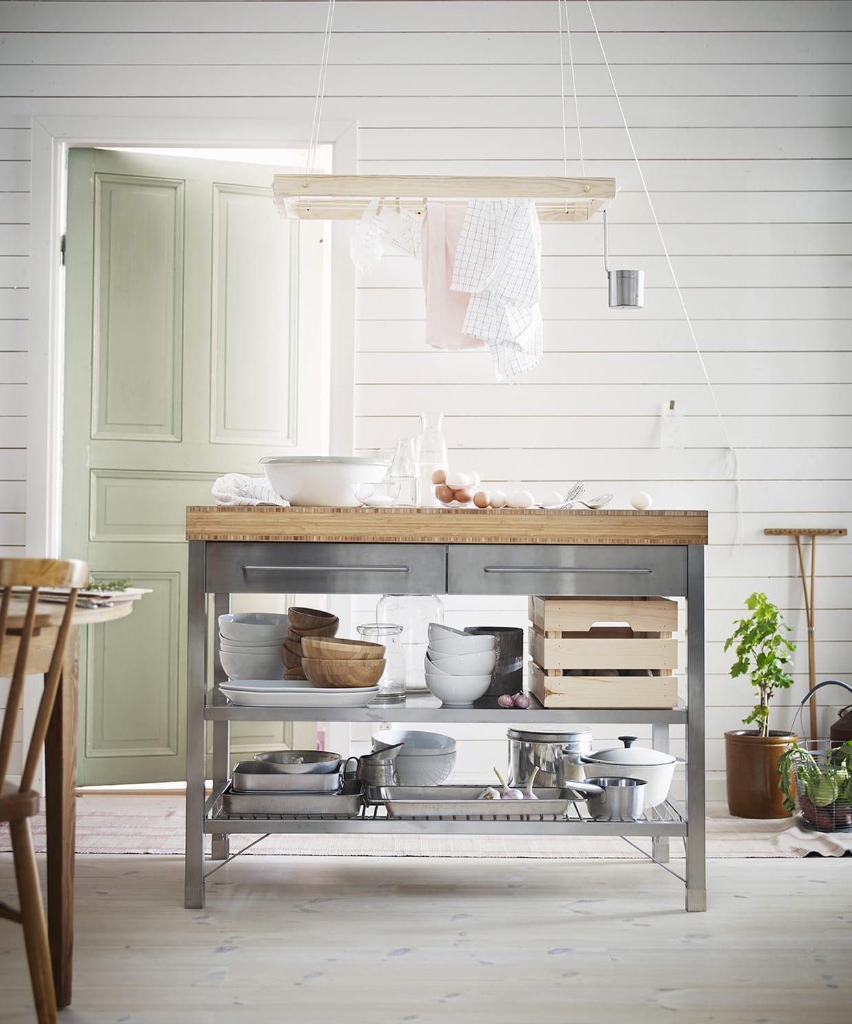 Ikea Ilot Cuisine: L'îlot De Cuisine Rimforsa D'IKEA
