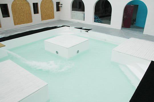 Mise en eau de la piscine