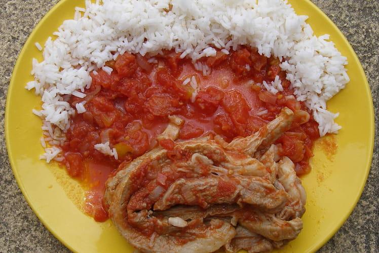 Tendrons de veau à la tomate