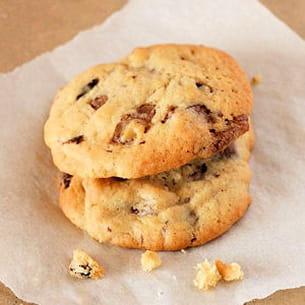cookies aux twix® et ananas confits