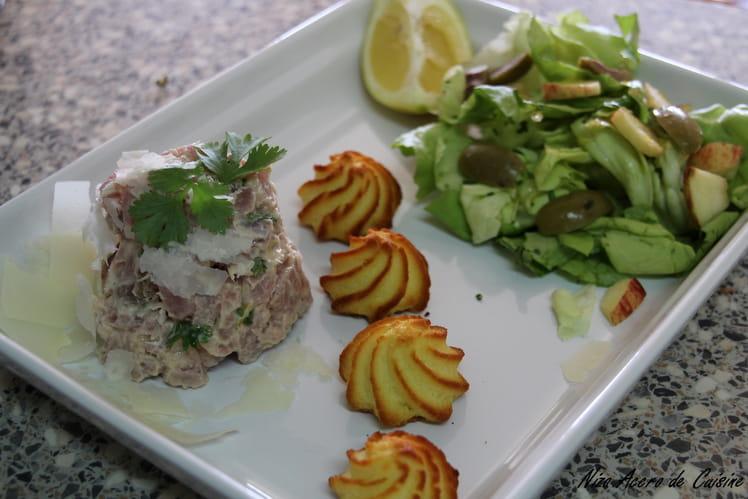 Tartare de thon frais