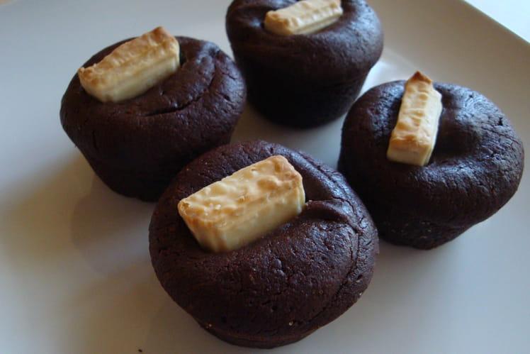 Mini gâteaux double chocolat