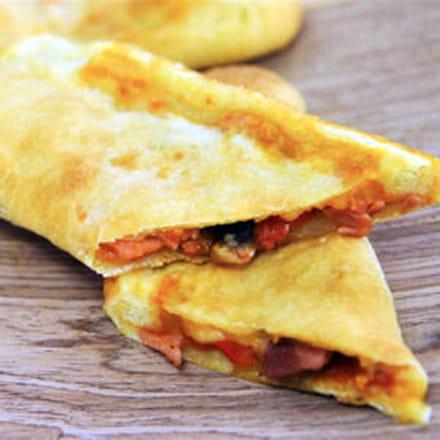 pizzas façon burritos