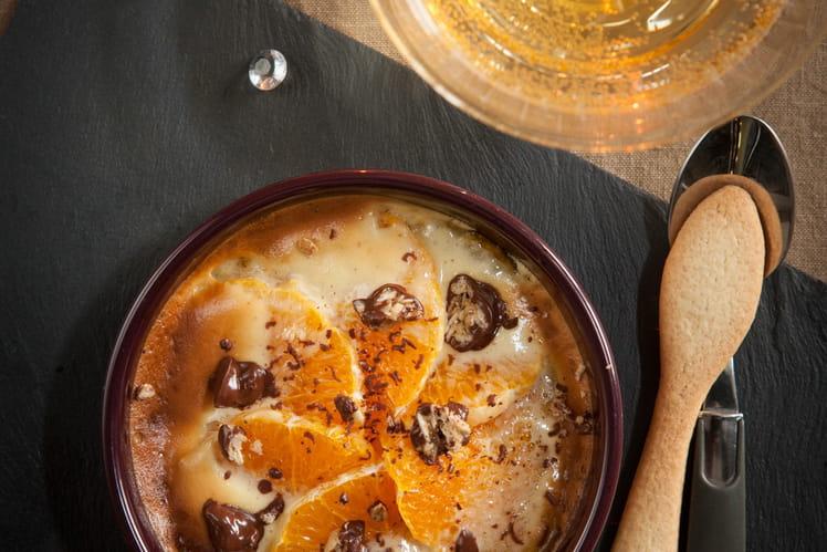 Clémentines caramélisée au miel craquant