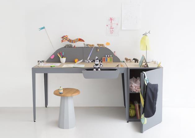 Bureau Flamingo de Constance Guisset X La Redoute