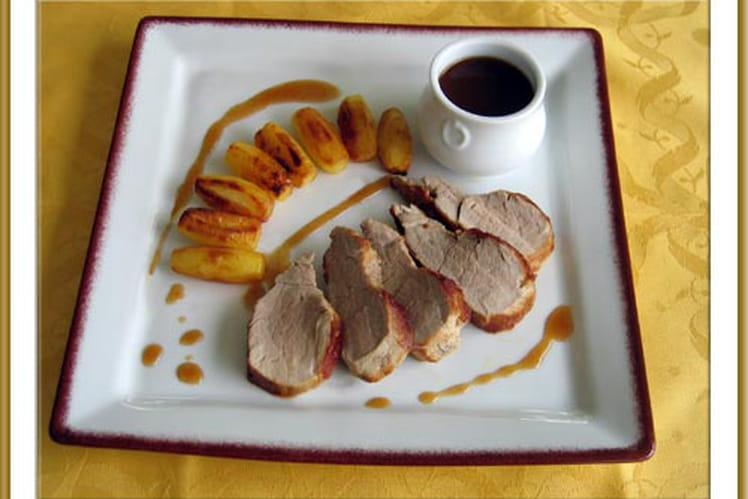 Filet mignon de porc au miel du maquis