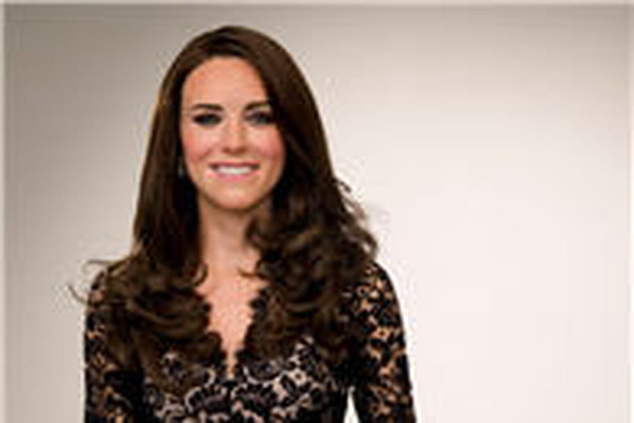 Madame Tussaud : Kate Middleton en Temperley London