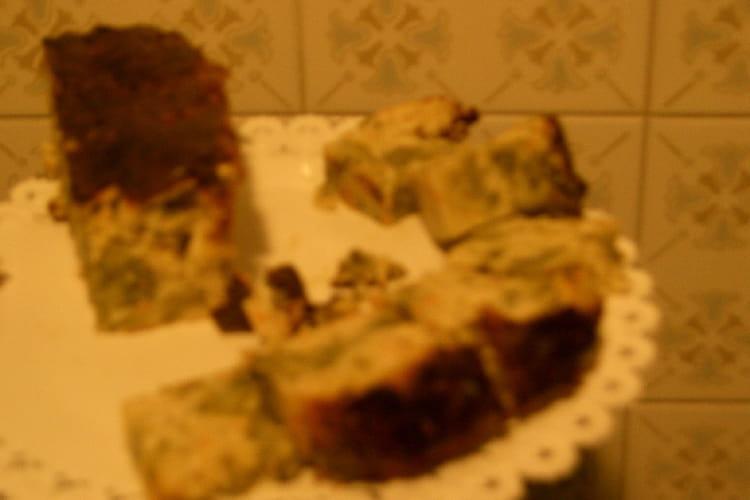 Cake brocoli surimi