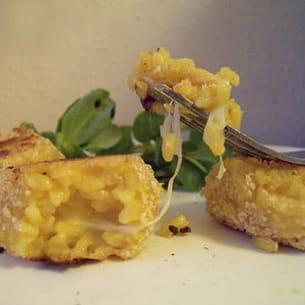 arancinis à la mozzarella