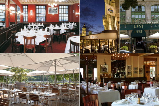 Les 5 brasseries de Paul Bocuse