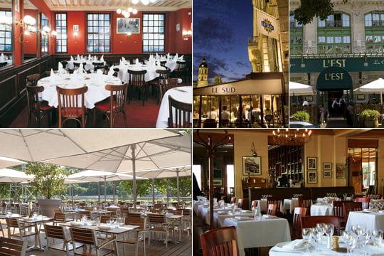 Les 5 brasseries de Paul Bocuse