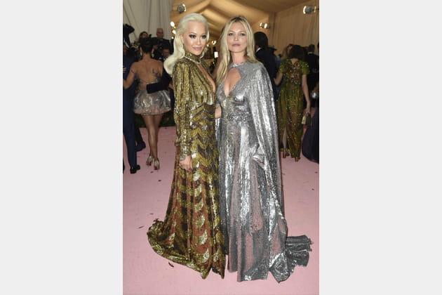 Rita Ora et Kate Moss en Marc Jacobs