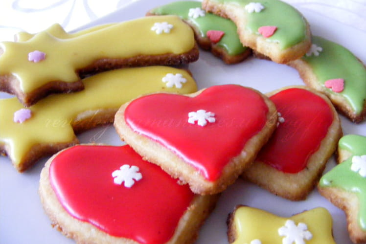 Sablés à la clémentine et aux épices de Noël