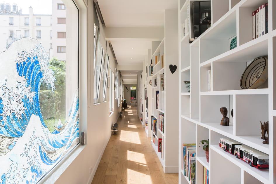 Cet appartement parisien qui fait l'éloge de la longueur