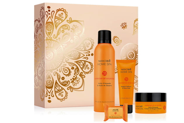 Coffret Home Spa Harmony Of Ayurveda De Nocibe