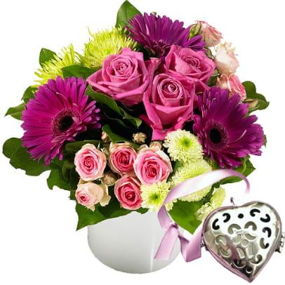 Une tendre attention for Le bouquet nantais