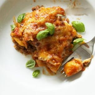 gratin de gnocchis aux carottes à la sauce tomate