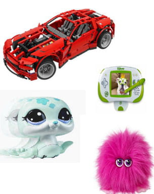 30 idées de jouets fille et garçon pour noël.