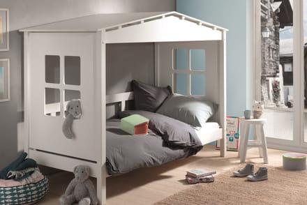 le lit cabane pour une chambre denfant ludique