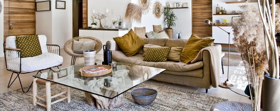 Déco du salon : conseils pour la décoration, la couleur, l\'éclairage ...