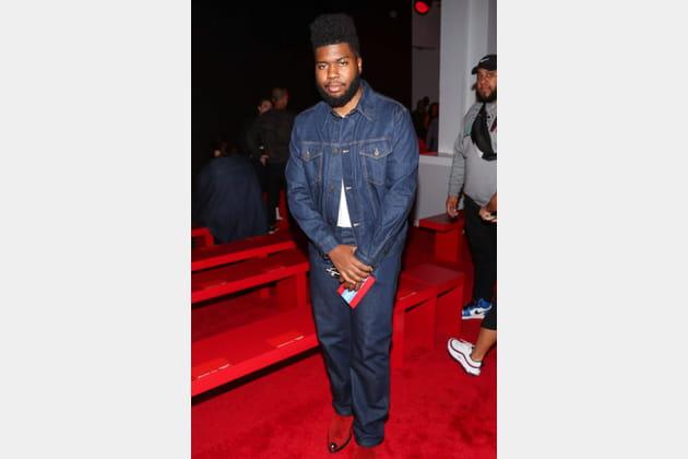 Khalid au défilé Calvin Klein