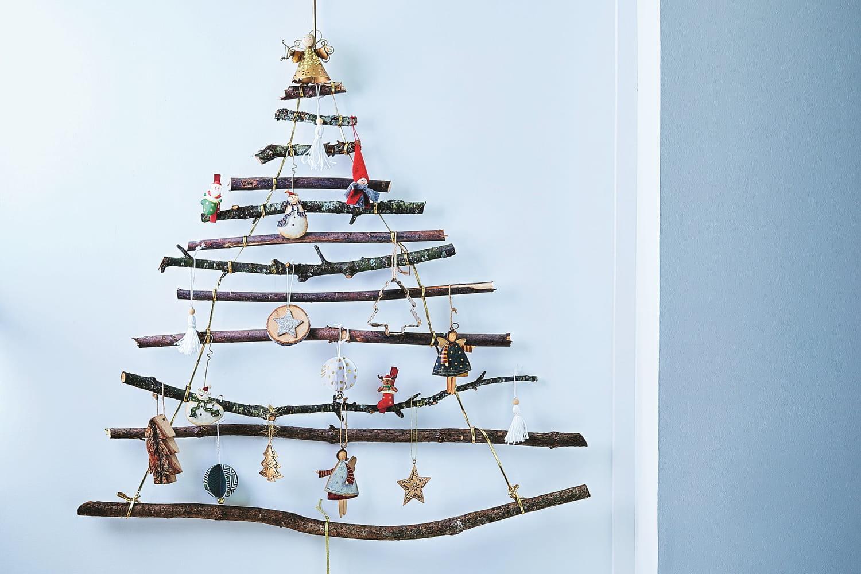 Un beau sapin de Noël en bois à faire soi-même