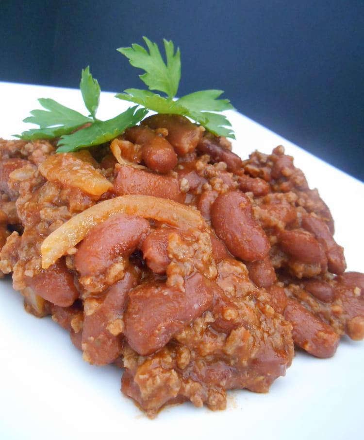 Recette chili con carne express boeuf - Recette chili cone carne thermomix ...