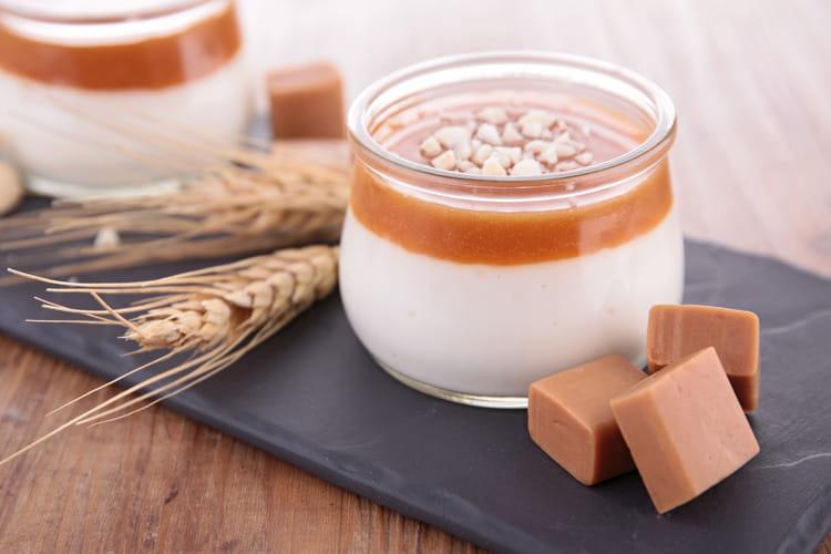 Yaourt au caramel au beurre salé