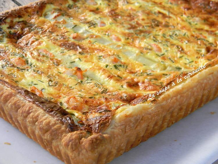 Recette de quiche aux asperges blanches de sologne et aux - Cuisiner des asperges blanches ...