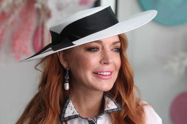 Lindsay Lohan, après: des lèvres gonflées