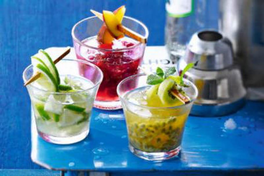 Comment décorer cocktails