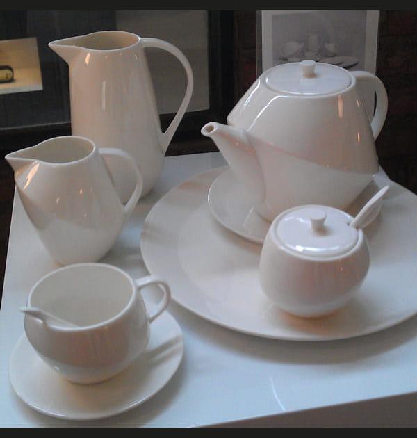 Service à thé Parnasse, Habitat