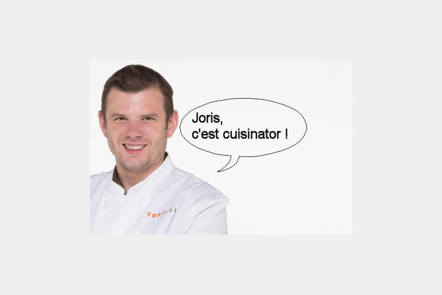 Jean-Philippe, à propos de Joris : Le type c'est cuisinator !