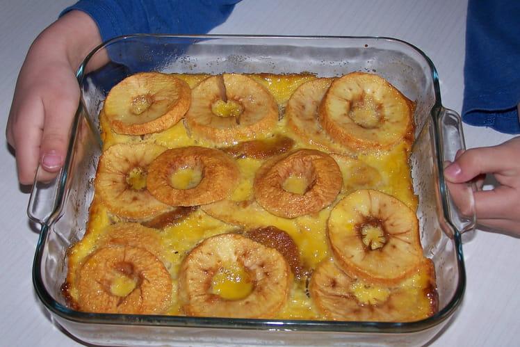 Délice aux pommes et aux palets bretons