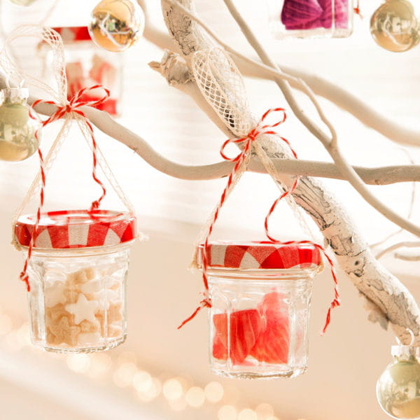 Mini pots de confiture customis s - Decoration pot de confiture ...