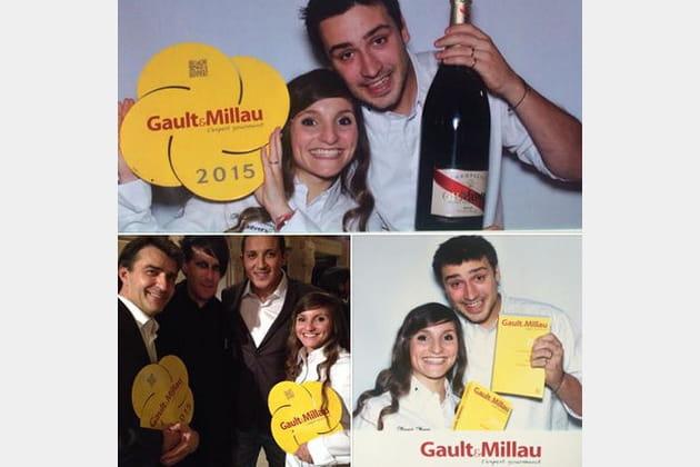 Noëmie Honiat et Quentin Bourdy : Champagne !