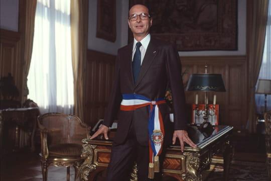 Jacque Chirac, maire de Paris