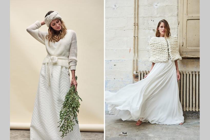 Comment réchauffer sa robe de mariée avec style?