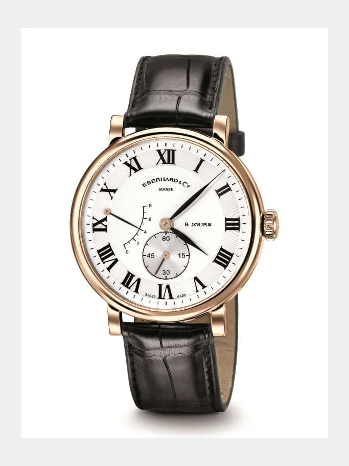 Montre Eberhard & Co 8 Jours Grande taille
