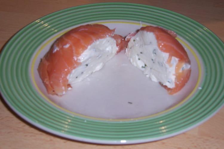 Terrine de faisselle au saumon fumé