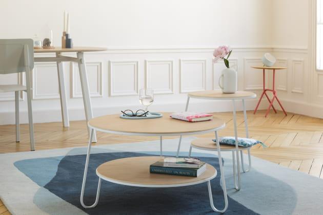 Table Eugénie et Anatole par Hartô